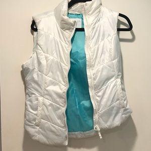 Aeropostale White Vest with Blue Interior